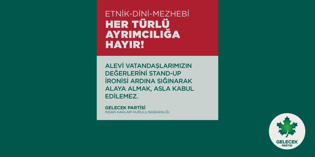Etnik-Dini-Mezhebi Kimlikler ve Toplumsal Hassasiyetlerin İroni ve İstihza Konusu Yapılması Kabul Edilemez!