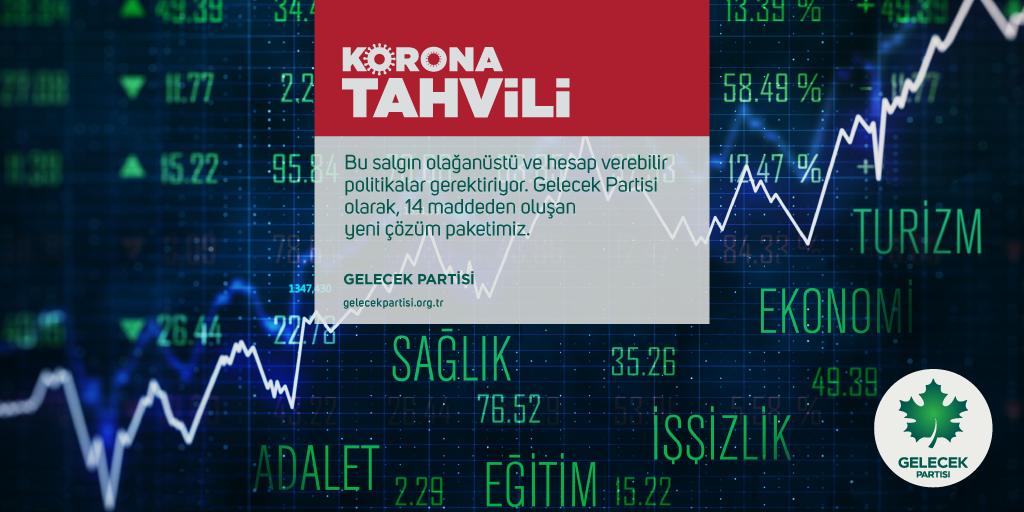 Salgın Olağanüstü ve Hesap Verebilir Politikalar Gerektiriyor: Korona Tahvili