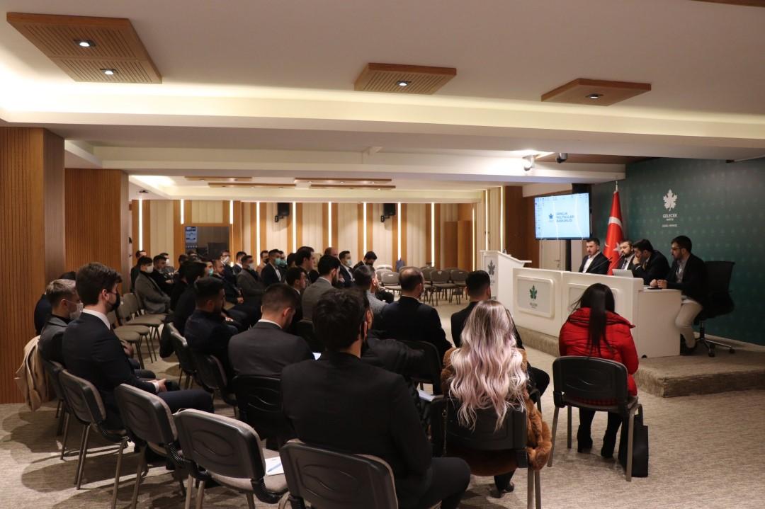 2. Dönem 1.Gençlik Meclisi Toplantısı