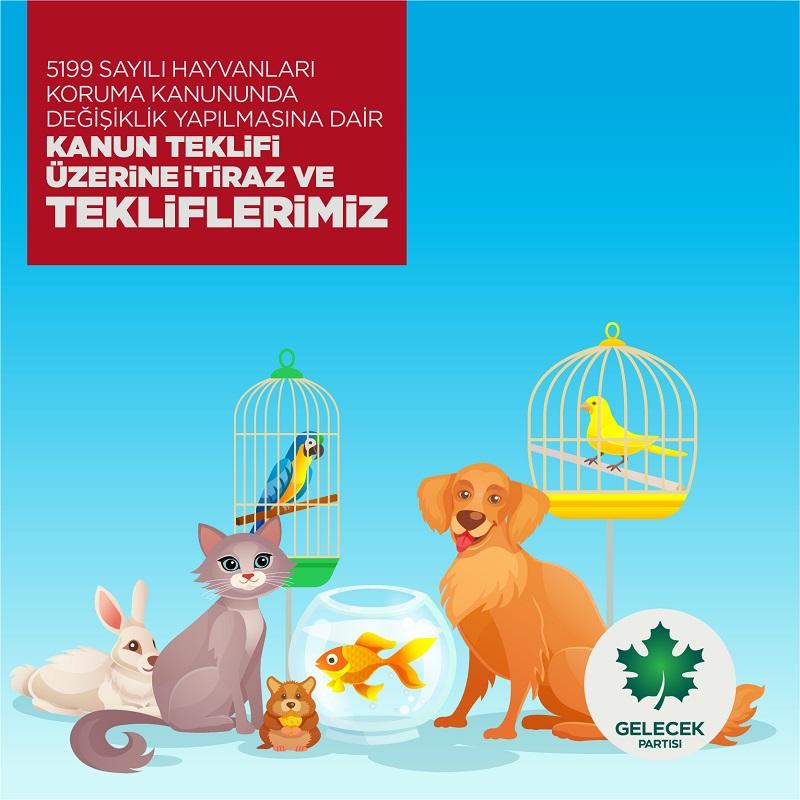 5199 Sayılı Hayvanları Koruma Kanununda Değişiklik Yapılmasına Dair Kanun Teklifi Üzerine İtiraz ve Tekliflerimiz