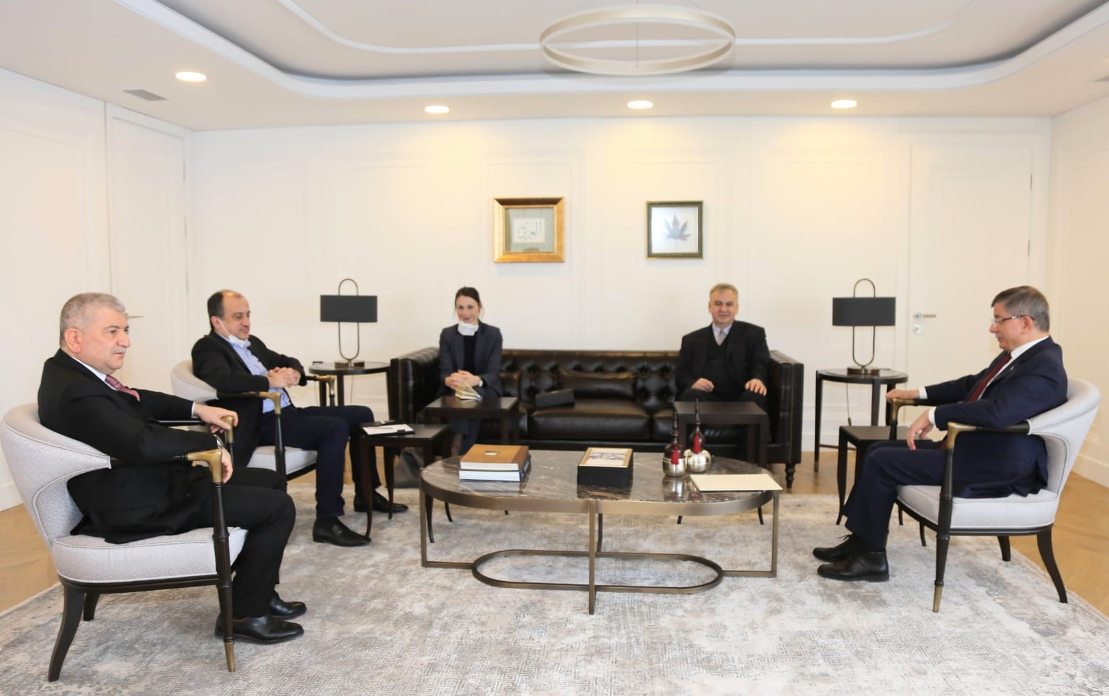Almanya Büyükelçisinin Partimizi Ziyareti