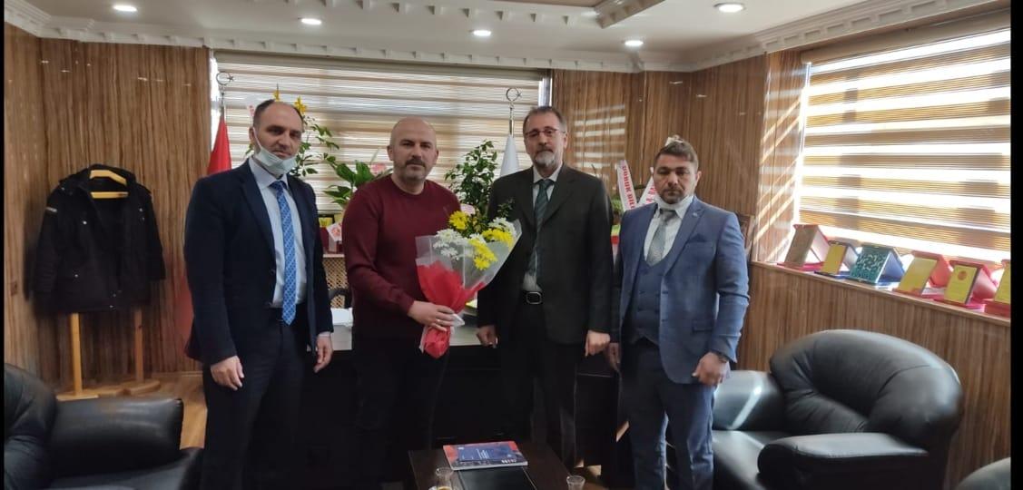 Bayburt Gazeteciler Cemiyeti'nin Yeni Başkanı Murat Okutmuş
