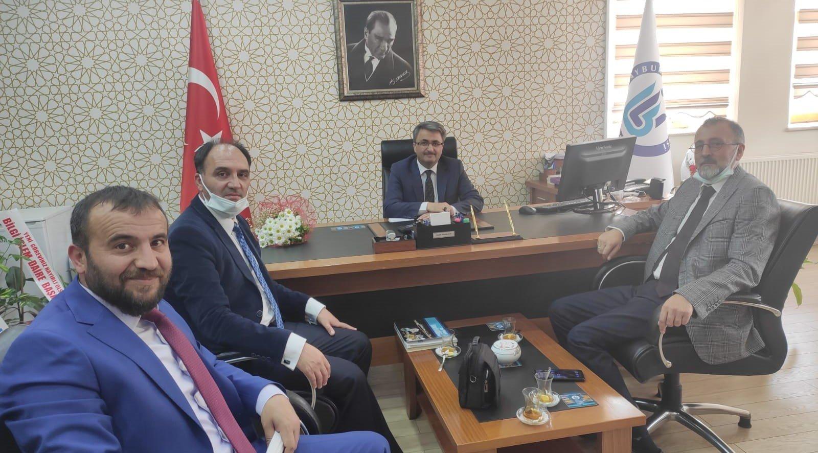 Bayburt Üniversitesi Genel Sekreteri Sayın Nazmi Karabulut'u Ziyaretimiz