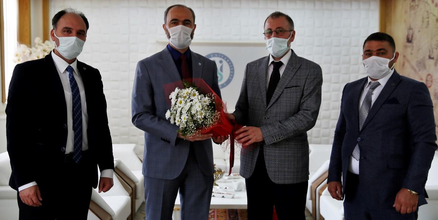 Bayburt Üniversitesine Rektörü Sayın Prof. Dr. Mutlu Türkmen'i ziyaret