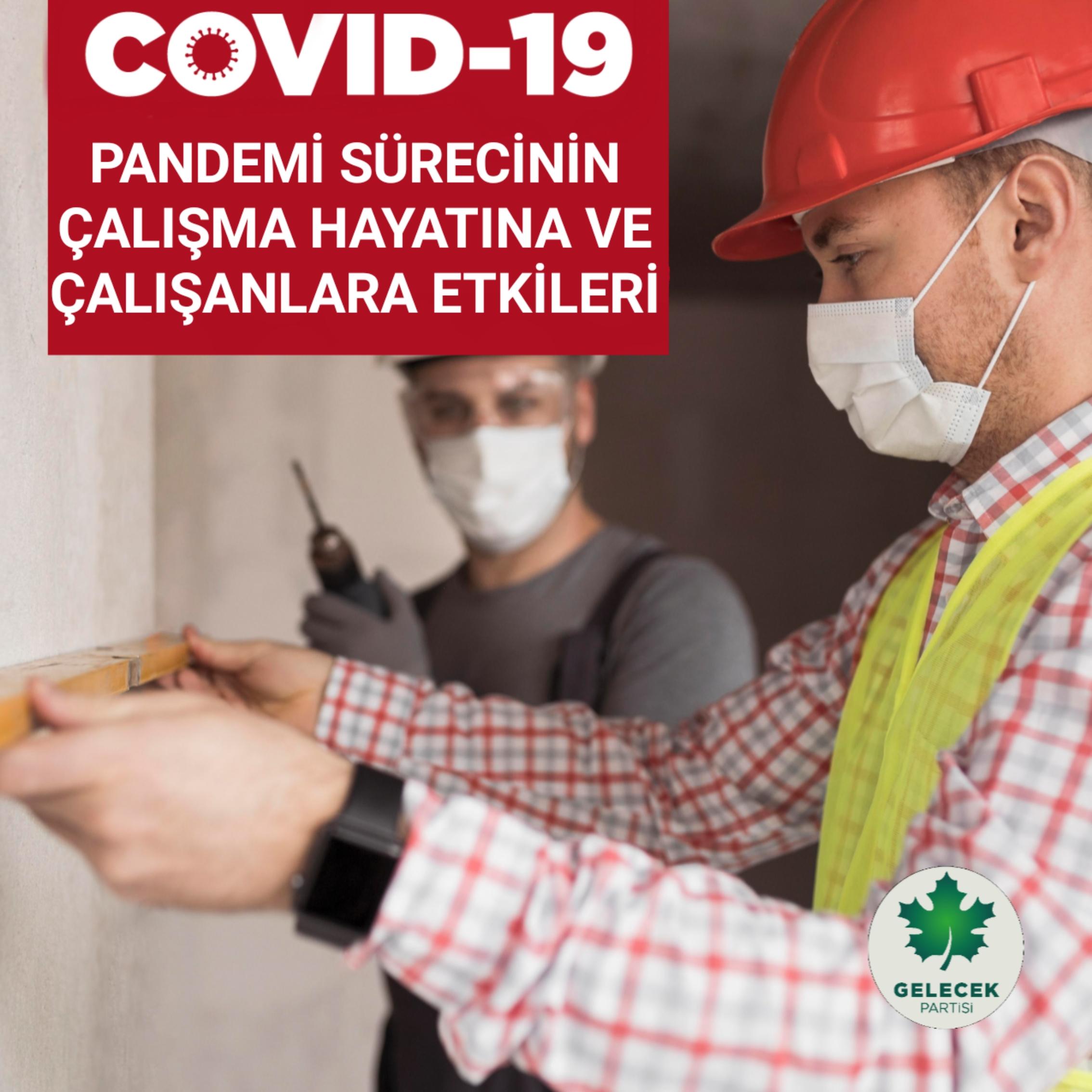 COVID-19 PANDEMİ SÜRECİNİN ÇALIŞMA HAYATINA VE ÇALIŞANLARA ETKİLERİ