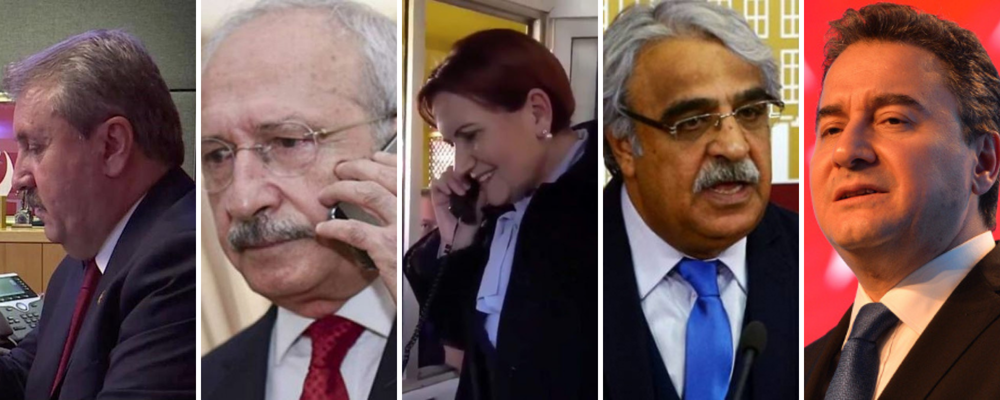Davutoğlu'na Liderlerden Geçmiş Olsun Telefonu