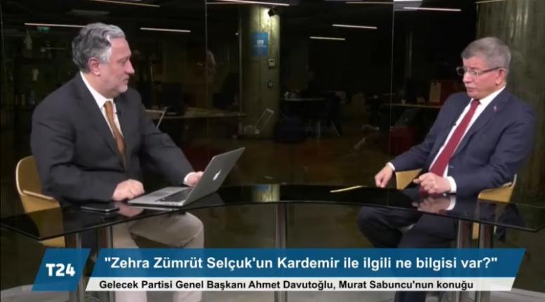 Davutoğlu'ndan Soylu'ya Sedat Peker Tepkisi: Koruma Veren Siz Değil Miydiniz?
