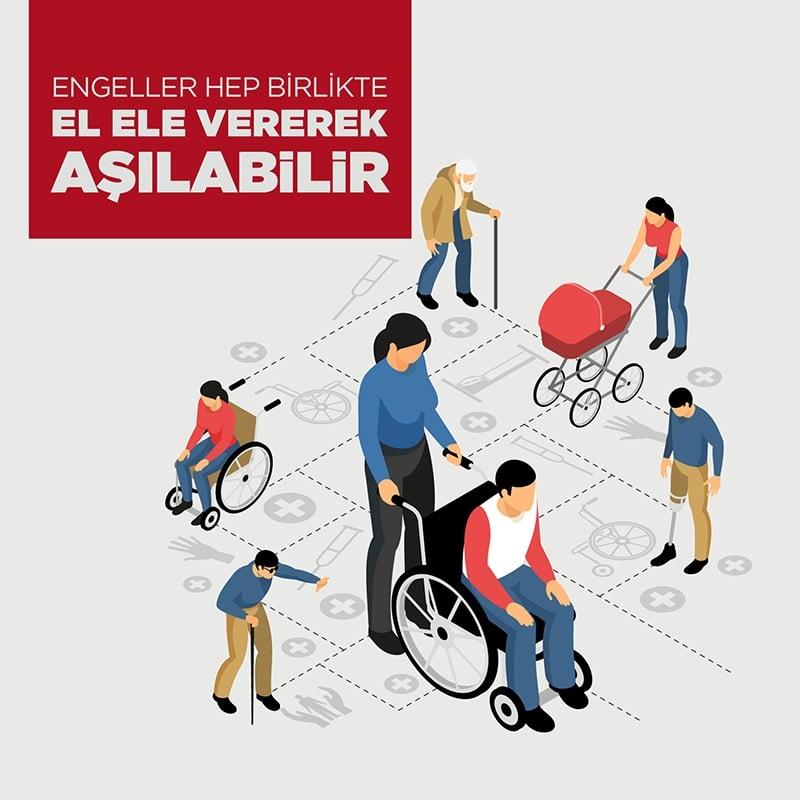 Engeller Hep Birlikte El Ele Vererek Aşılabilir