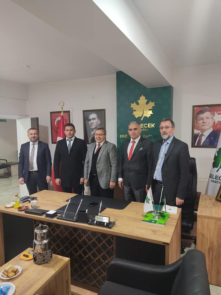 Erzincan Teşkilatını Ziyaret