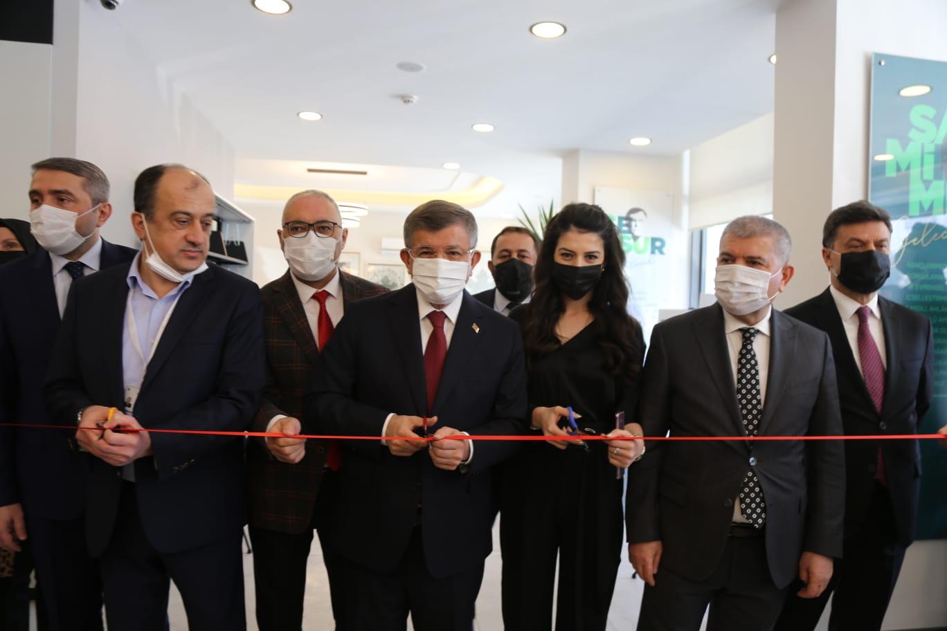 Yurtdışındaki Osmanlı Mimari Mirası Sergisinin Açılışı Sayın Genel Başkanımız tarafından yapıldı
