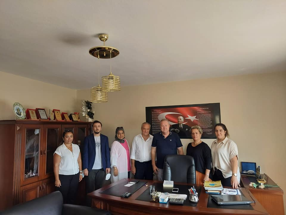 Gazeteci Necmi IŞIKSAL'a Ziyaretimiz