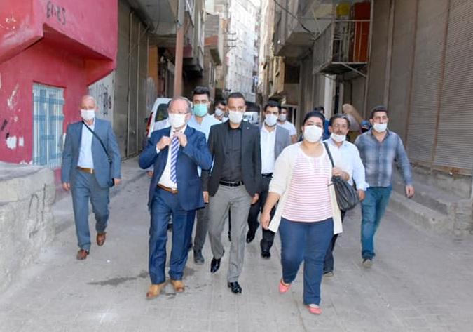 Gelecek Partisi Diyarbakır İl Başkanımız Sayın Av Aydın ALTAÇ Bağlar esnaflarımızı ziyaret etti.