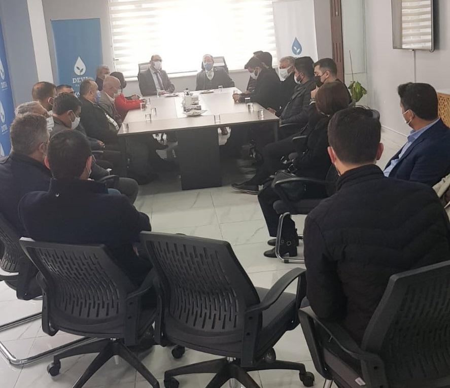 Gelecek Partisi Diyarbakır il Teşkilatı Deva partisini ziyaret etti.