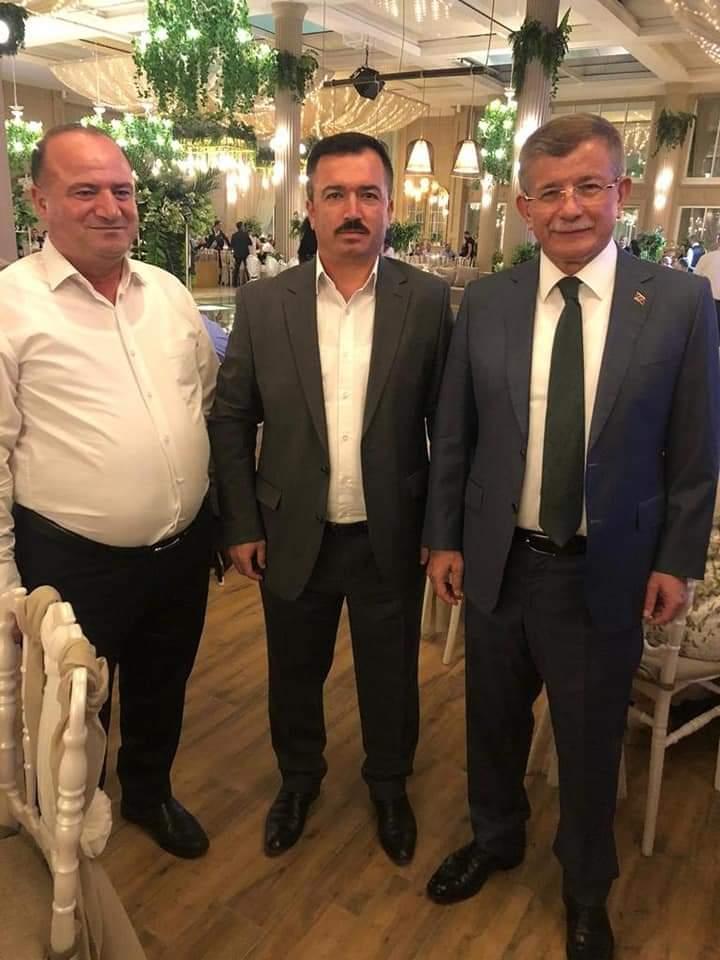 Gelecek Partisi Genel Başkan yardımcısı Sayın Feramuz Üstün bey'in oğlu' nun düğün merasimine katıldık