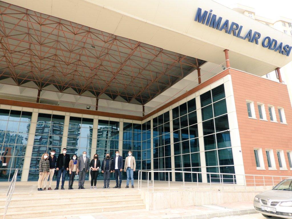 Gelecek partisi Mersin teşkilatı olarak il başkanımız ile beraber mimarlar odası ziyaretimizi gerçekleştirdik.