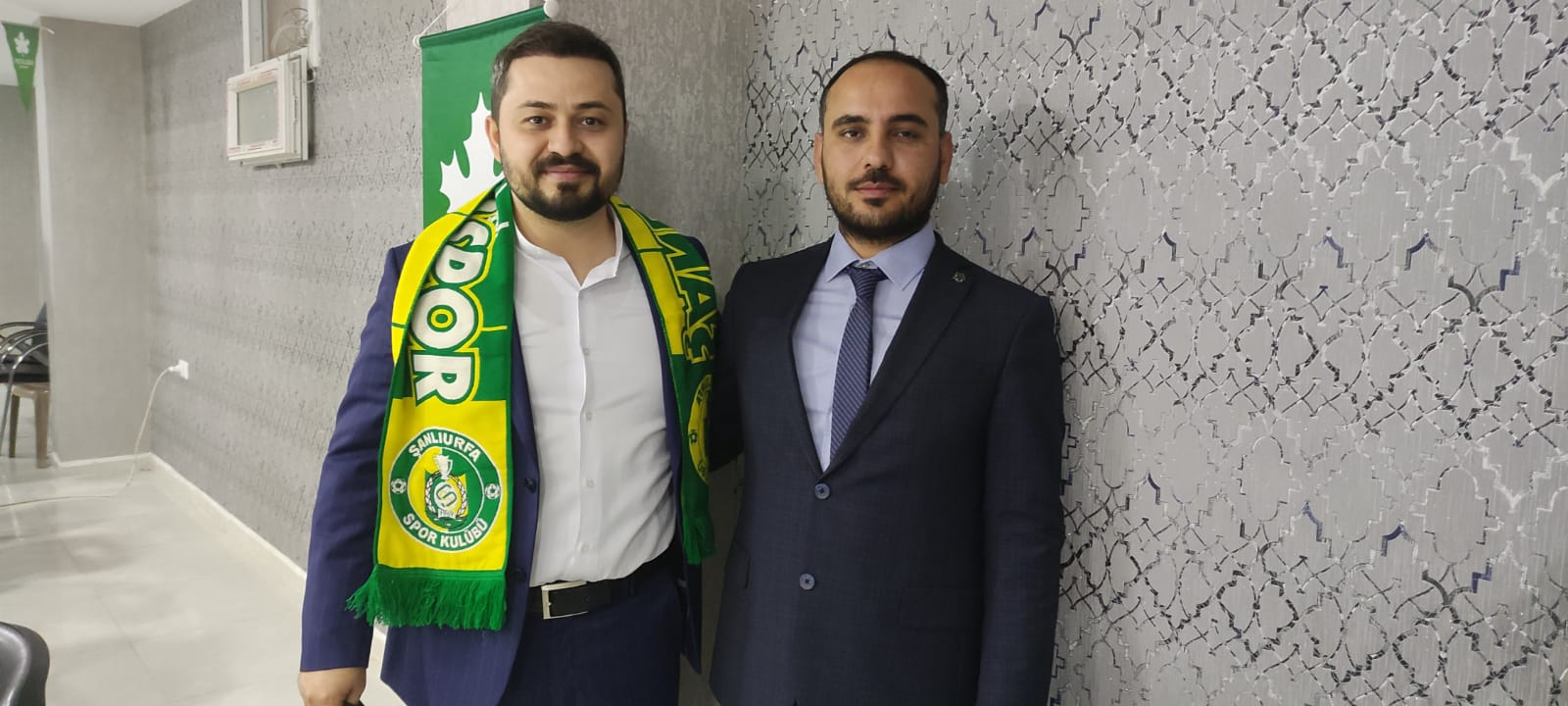 Gençlik Politikaları Başkanı Mustafa Gözel  ile İl Gençlik Kolları Başkanımız Habip Çakmak