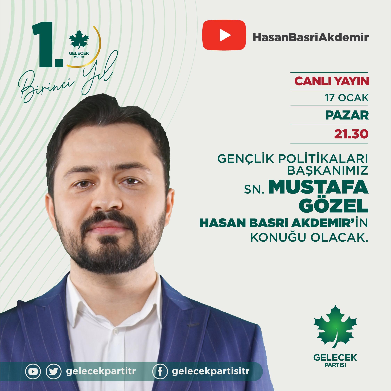 Gençlik Politikaları Başkanımız Sayın Mustafa Gözel, Hasan Basri Akdemir'e konuk oldu.