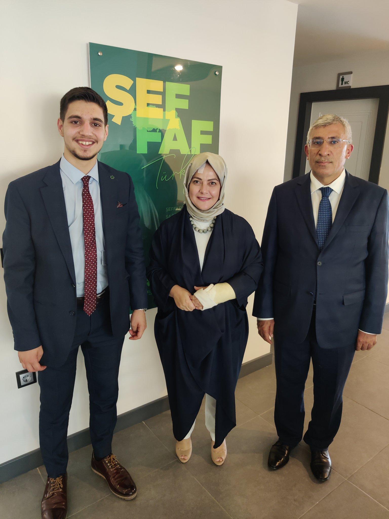 Genel Başkan Yardımcımız Sema Silkin Ün'e geçmiş olsun ziyaretinde bulunduk