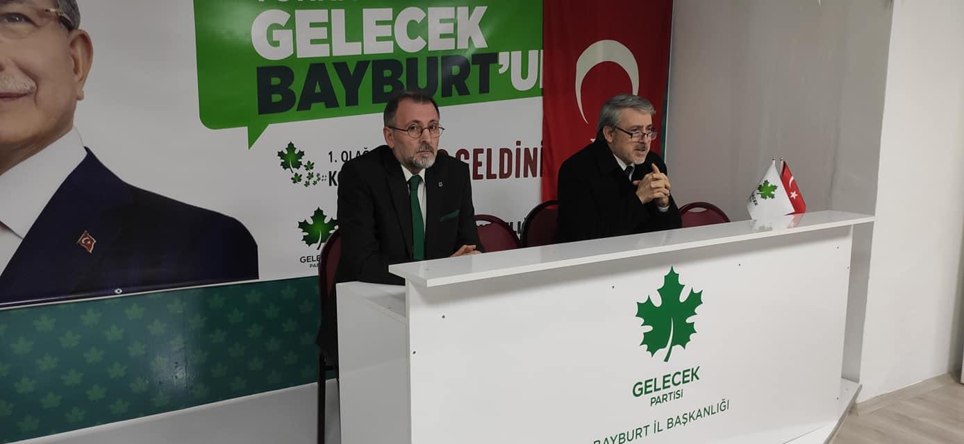 Genel Başkan Yardımcımız Sayın Mehmet Ali Pulcu Bayburt'ta.