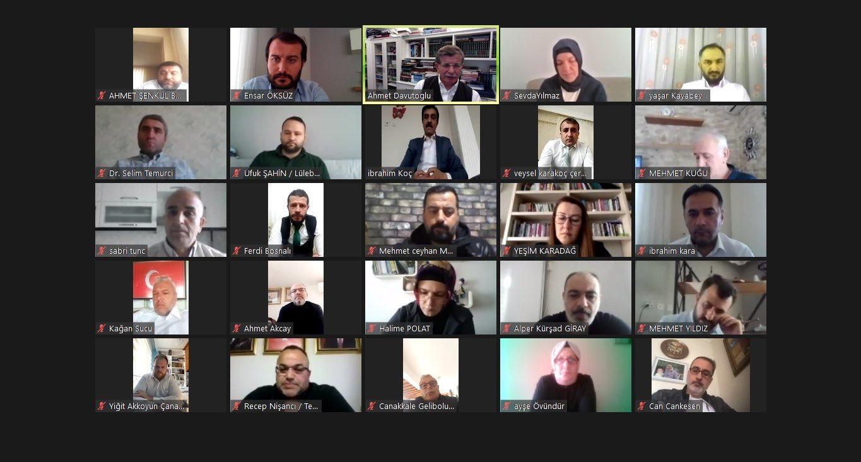 Genel Başkanımız Ahmet DAVUTOĞLU'nun katılımıyla bölge toplantısını gerçekleştirdik.