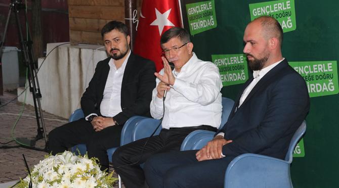Genel Başkanımız Sayın Ahmet DAVUTOĞLU, Çerkezköy'de GENÇLERLE BULUŞTU!