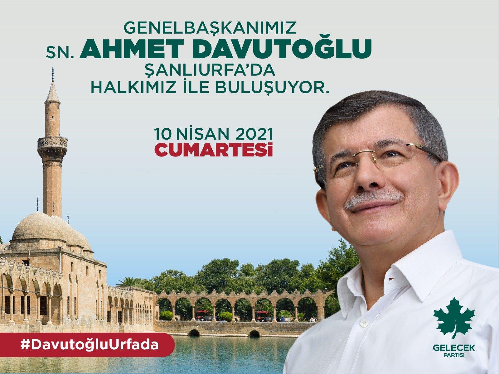 Genel Başkanımız Sayın Ahmet Davutoğlu Şanlıı Şehrimiz Şanlıurfa'da