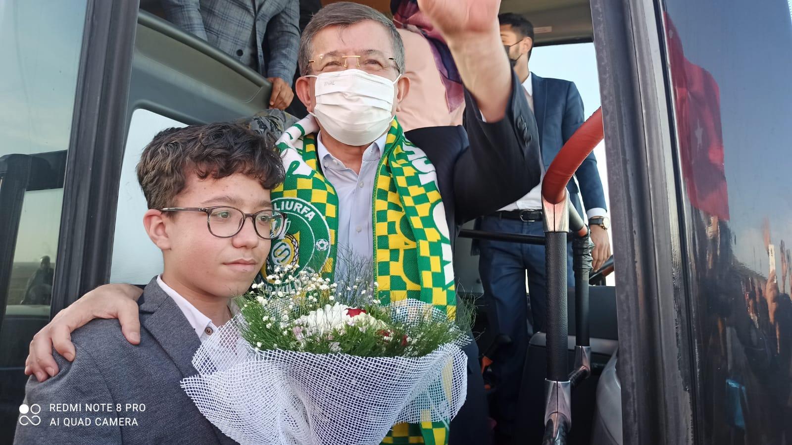Genel Başkanımız Sayın Ahmet Davutoğlu'nu Birecik'te karşılıyoruz