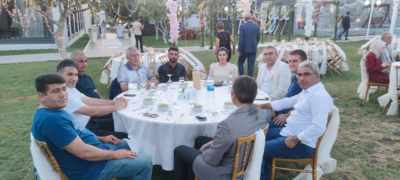 İl Başkan Yardımcımız ,Reyhan Açıkgöz Kalaycıoğlu'nun kardeşinin düğün merasimine katıldık.