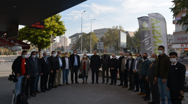İl Başkanımız Av. Zülküf ARSLAN, Basın Mensupları ile Buluştu!