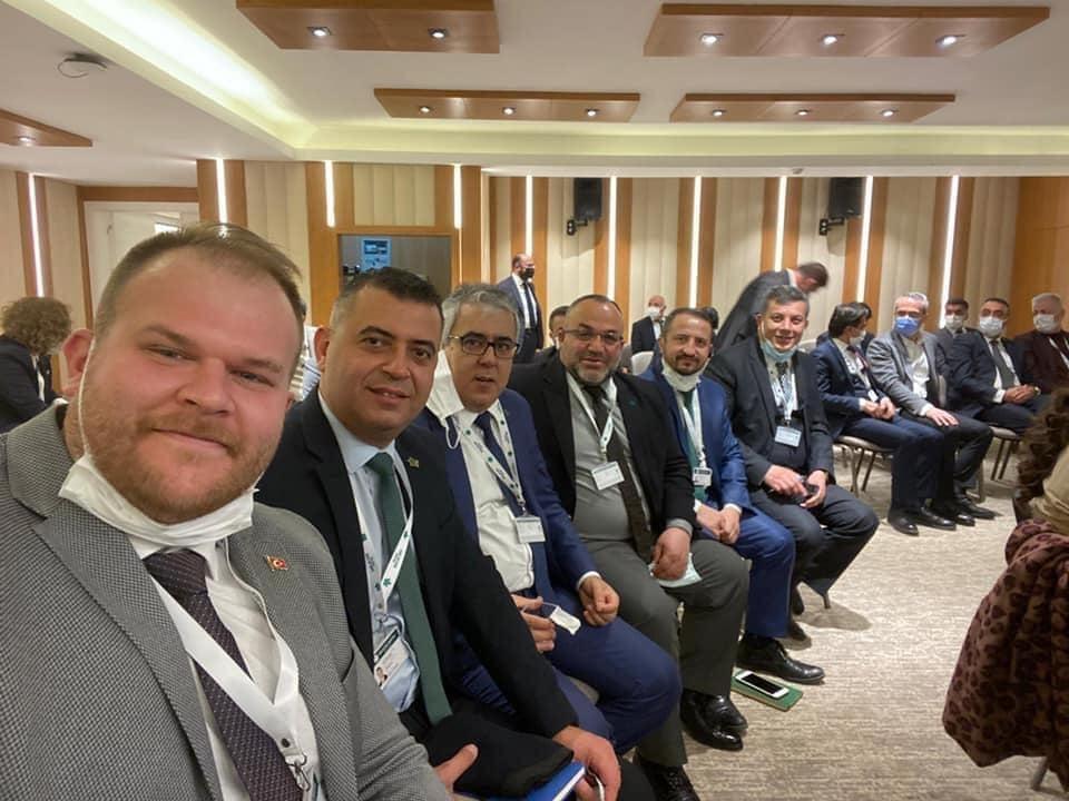 İl Başkanımız Recep NİŞANCI 11. İl Başkanları Toplantısına katıldı!