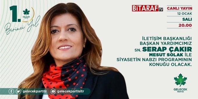 İletişim Başkanlığı Başkan Yardımcımız Sayın Serap Çakır, BiTARAF TV'ye konuk oldu.