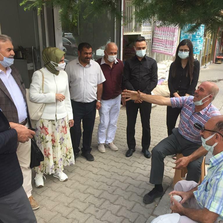 Kadın Politikaları Başkanımız Sn. Habibe Çiftçioğlu Başer'in Ziyaretleri