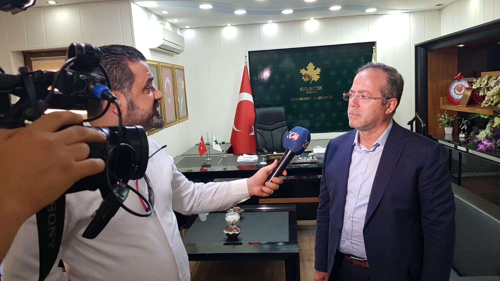 Rûdaw tv ve K24 ty'ye Bölge ve Türkiye gündemini değerlendirdik.