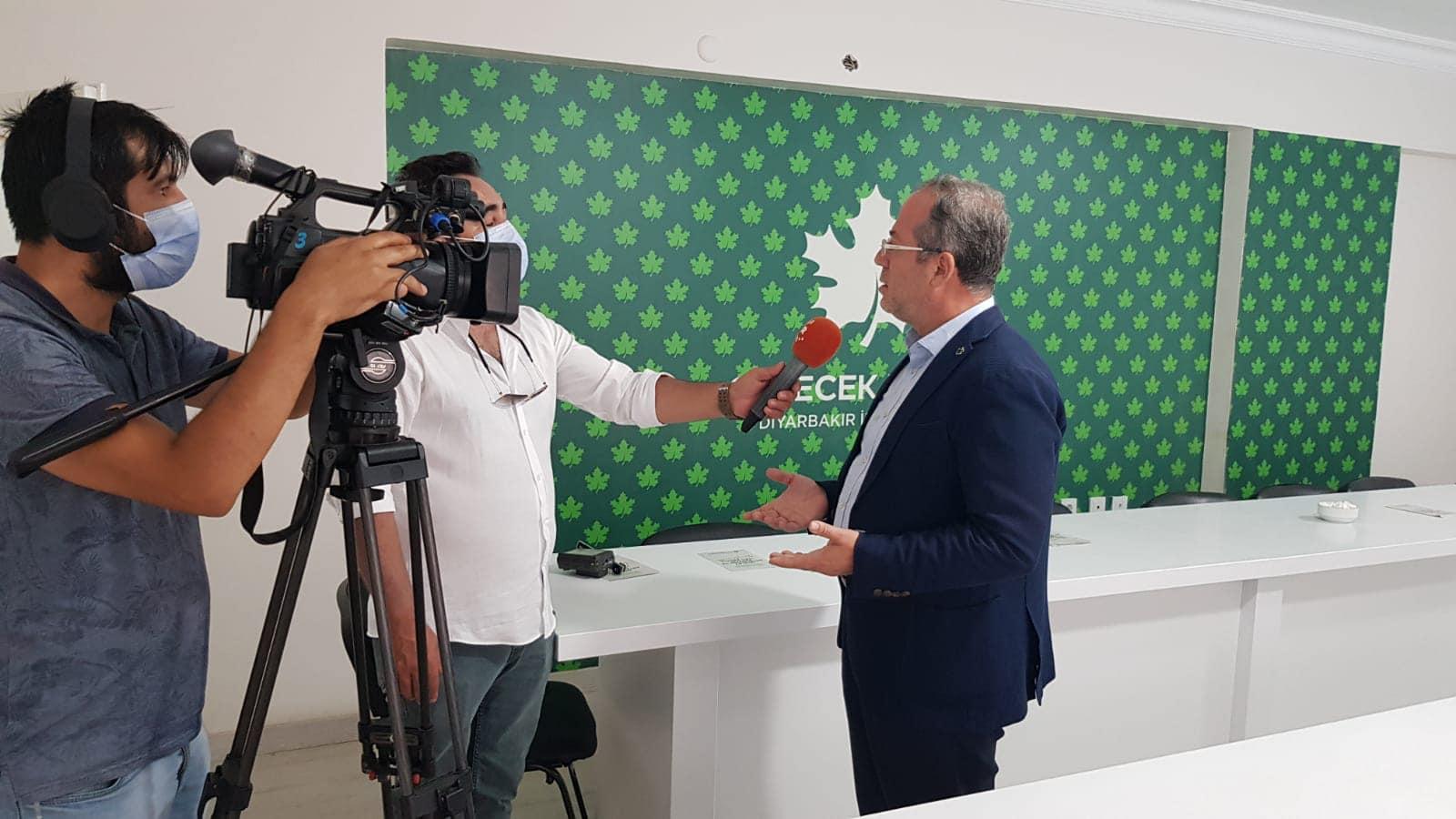 Rûdaw Tv'de Türkiye ve Bölge gündemini değerlendirdik.