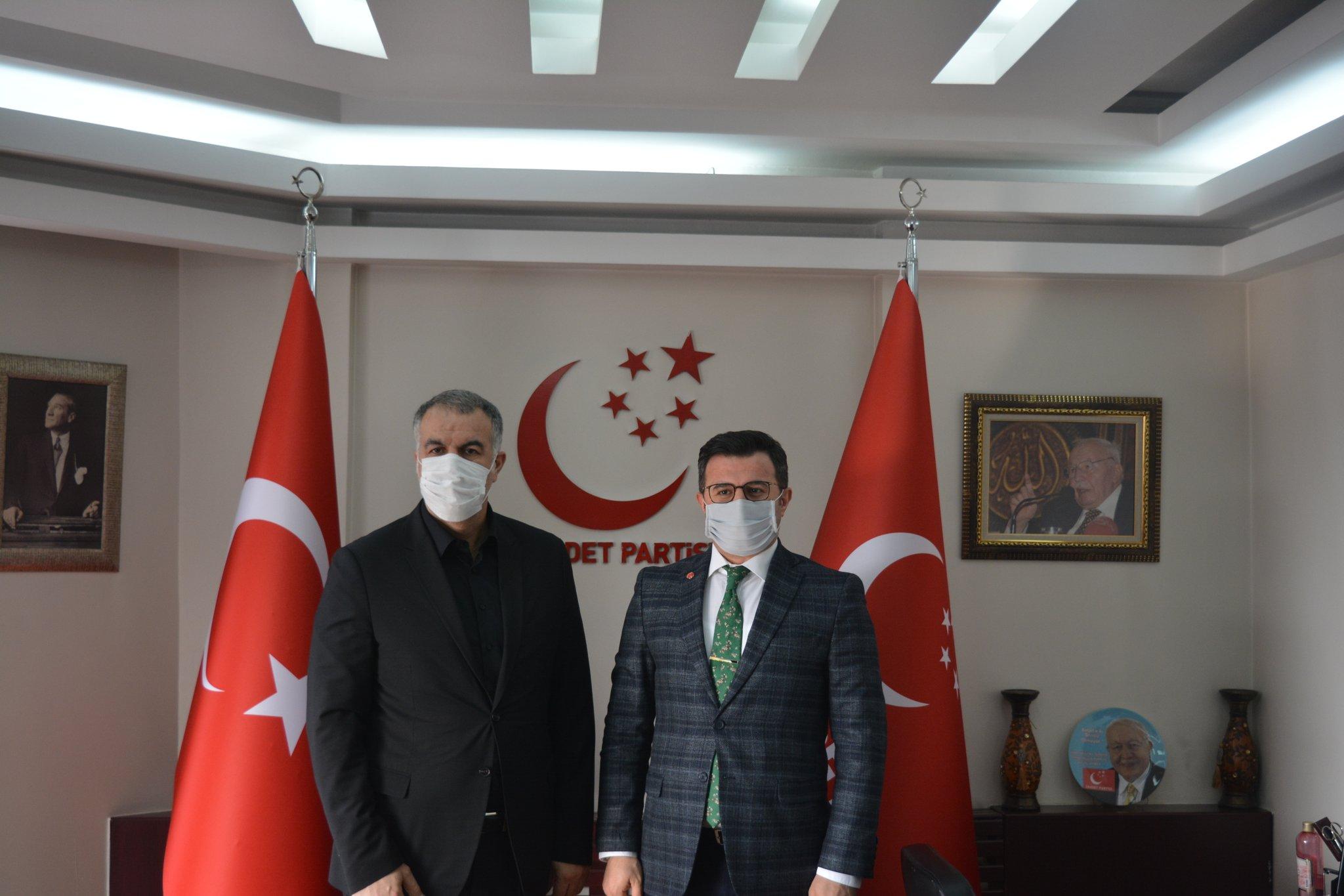 Saadet Partisi Kayseri İl Başkanlığı Ziyareti