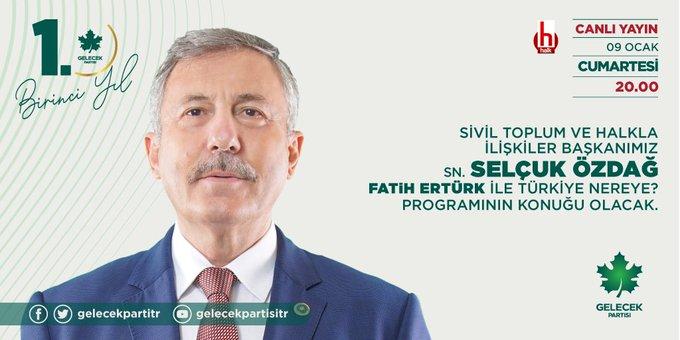 Sivil Toplum ve Halkla İlişkiler Başkanımız Sayın Selçuk Özdağ, Halk TV'ye konuk oldu.