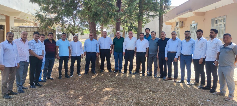 Suruç İlçesi Bostancı Köyünde partimize katılım sağlayan kardeşlerimiz ile bir araya geldik.