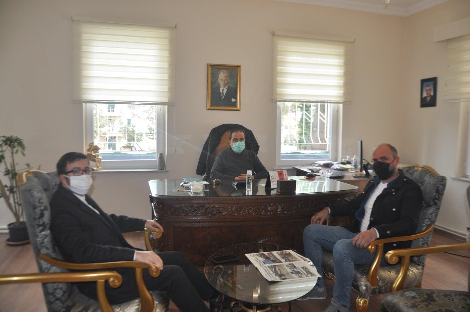 Tekirdağ'ın En Eski Gazetesi Tekirdağ Yeni İnan'a Gençlik Kolları ve İletişim Başkanlığından Ziyaret