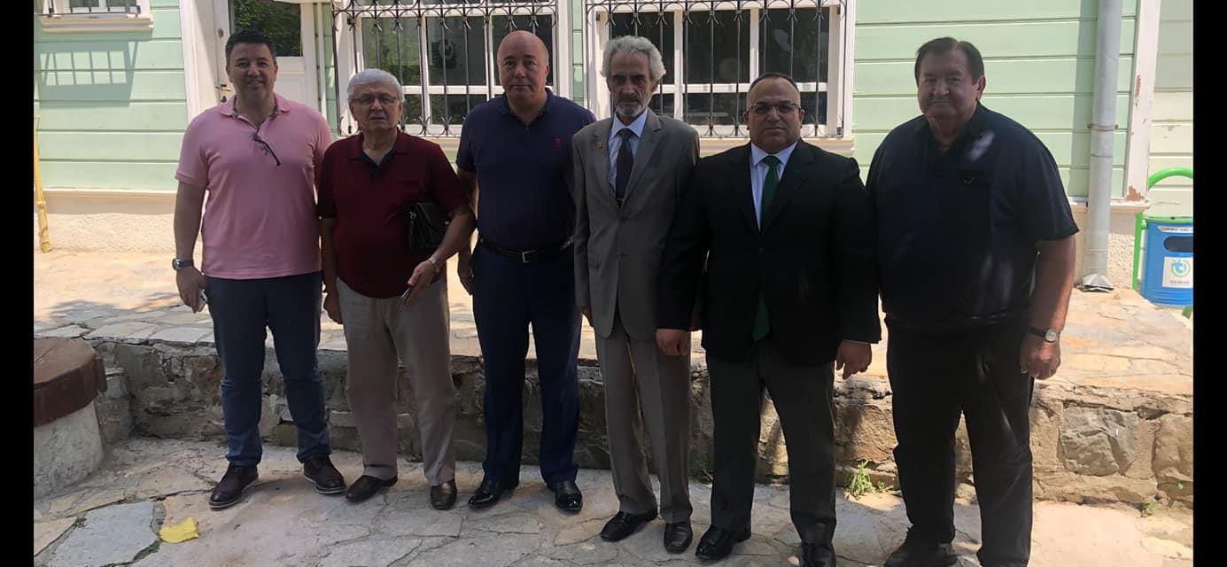 Tekirdağ'ın Siyasi Parti İl Başkanları Tekirdağ İçin Bir Araya Geldi