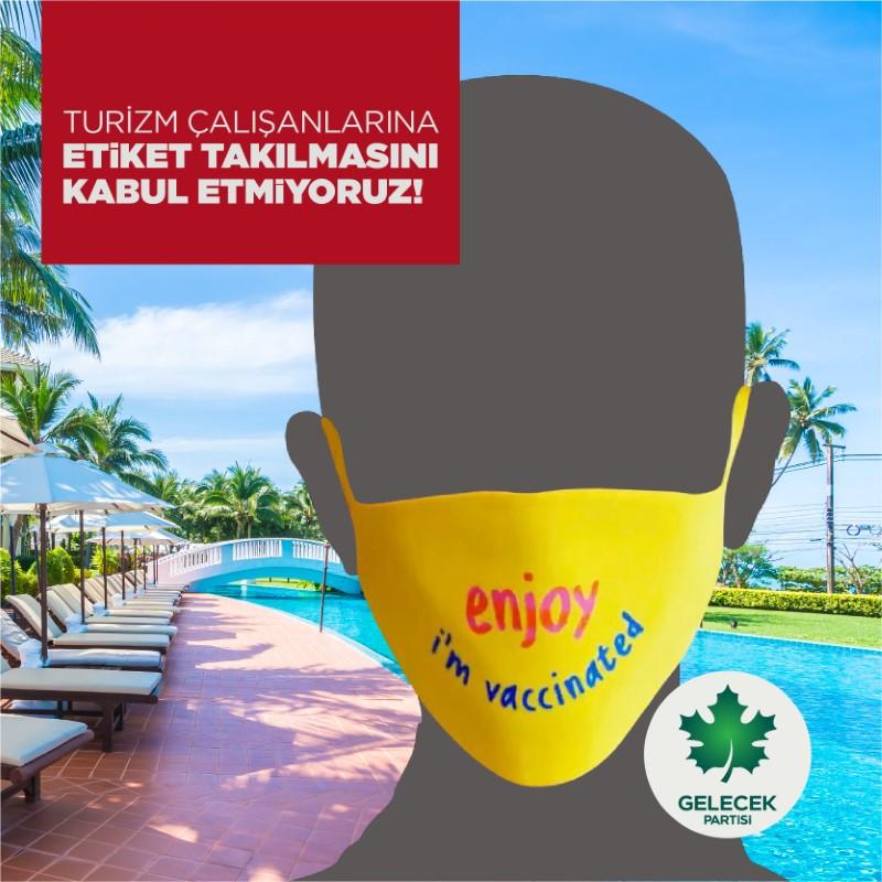 Turizm Çalışanlarına Etiket Takılmasını Kabul Etmiyoruz!