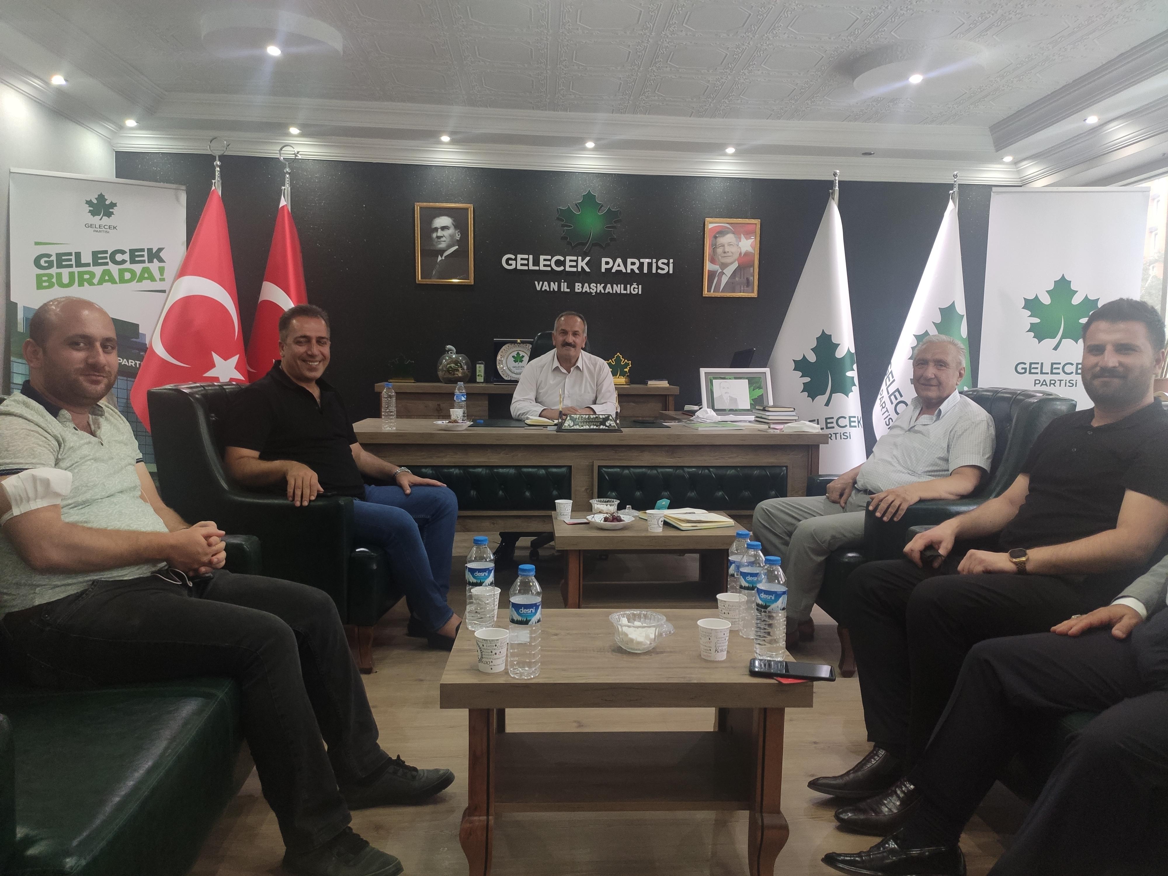 Van İl Başkanlığı Başkanlık Kurulu Toplantısı yapıldı