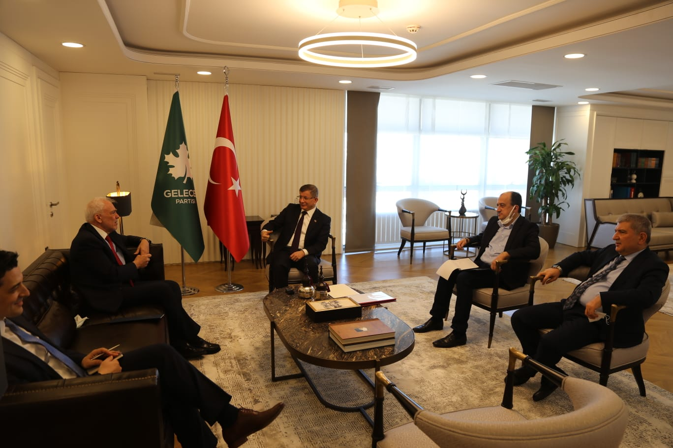 Yunanistan Büyükelçisinin Partimizi Ziyareti