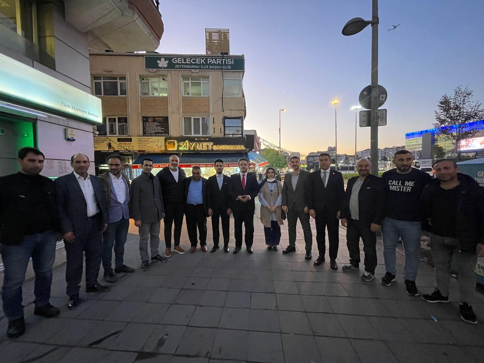 Zeytinburnu İlçe Başkanlığımızı ziyaret ettik