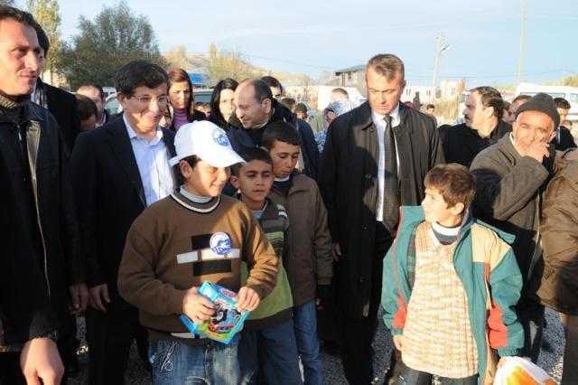 Van Depremi Yıl Dönümü Ziyareti